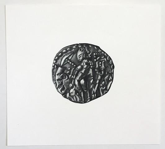 Gupta Coin: The Goddess Ganga