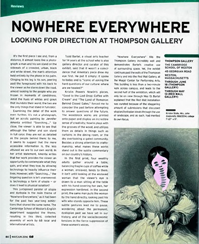 ArtScope review of Nowhere Everywhere exhibition