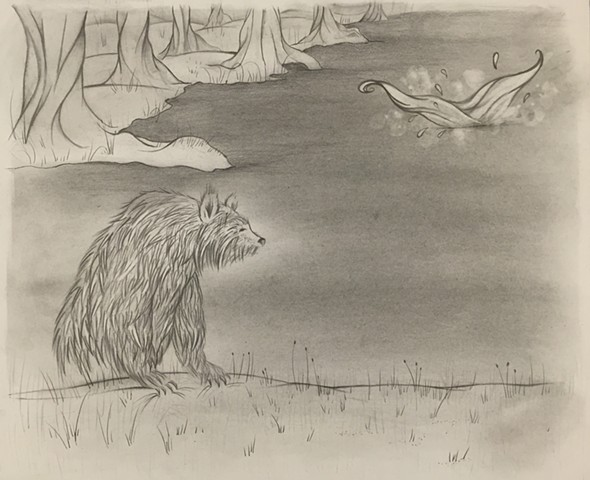 Bear Drawing #8