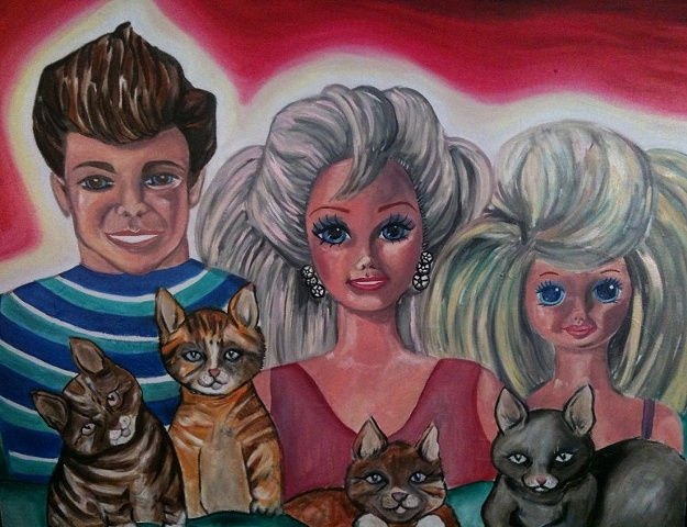 Barbie Family Portrait