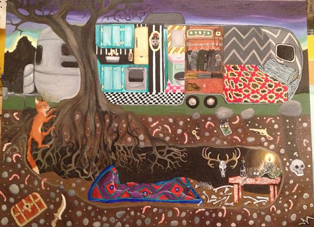 Fox Hole and Airstream-SOLD