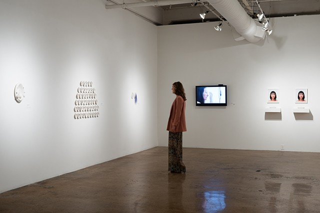 installation view Blue Star Contemporary Art Museum Middle Gallery