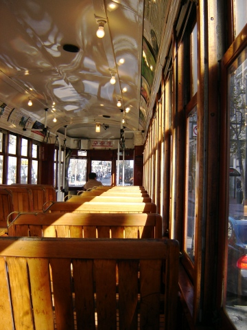 New Orleans streetcar in San Francisco