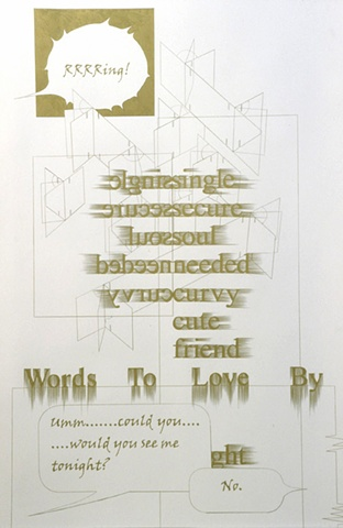 Words To Live & Love By   Urban Institute for Contemporary Arts, MI, USA