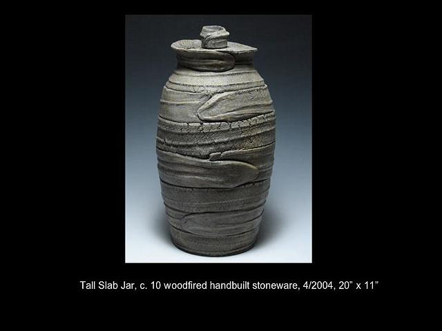 Tall Slab Jar