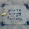 'living a fantasy'