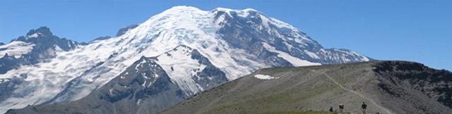 mountains, glaciers, Mt. Rainier, hiking,
