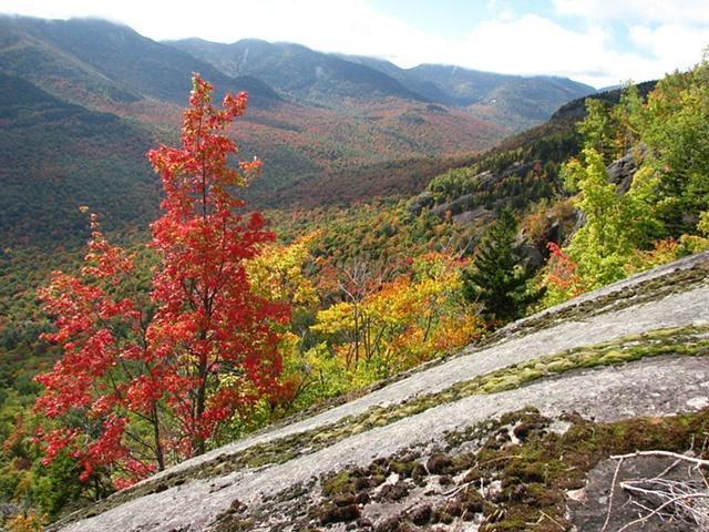 Autumn color, Adirondacks, hiking, New York