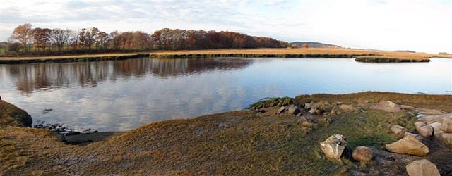 Essex River, Massachusetts, autumn foliage, Essex River Basin