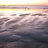 Walking at Sunrise on the Maine Coast