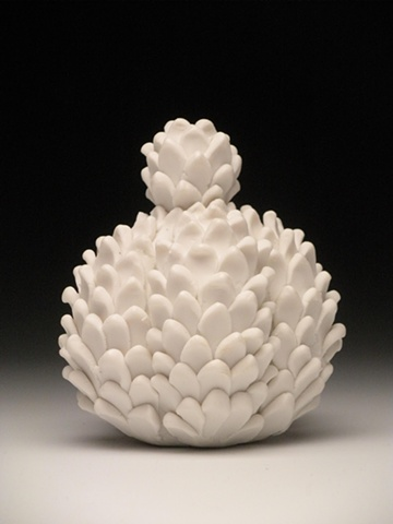 porcelain, hand carved, handbuilt, handmade, fine craft