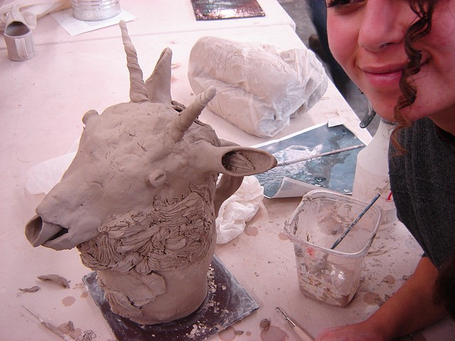 Introduction to Ceramics, FVCC Teapot Assignment