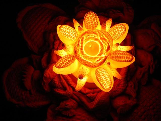 Cheekin Flower (illuminated)