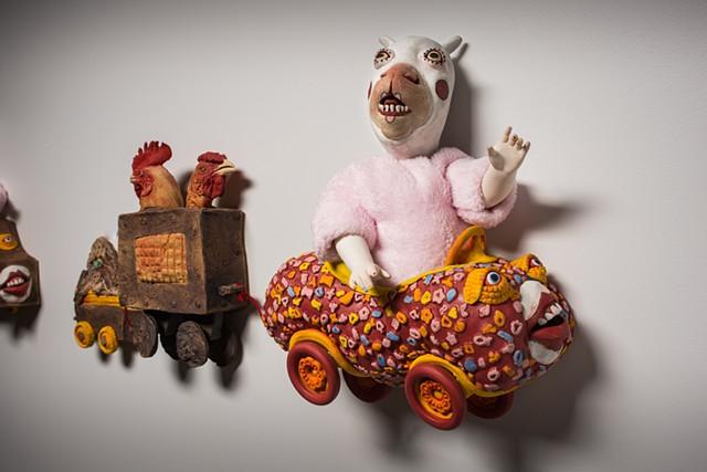 Corn Clown Parade