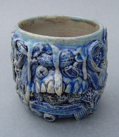 Blue Tooth Cup