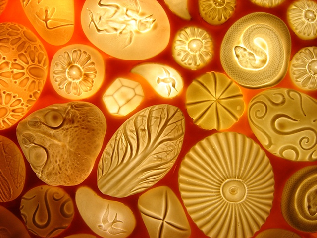 Porcelain and Beeswax, detail