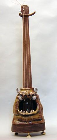 Face Jug Slide Electric Guitar
