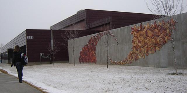 Honors Math/Art Interdisciplinary Class, FVCC  Tile Mural Project