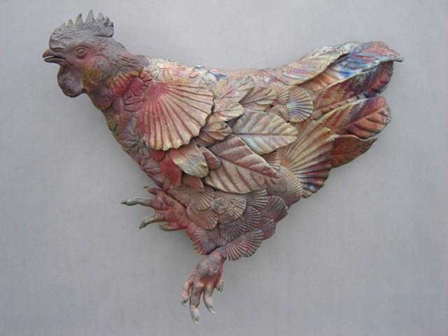 Raku Rooster