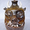 Devil Pig Whiskey Face Jug #4