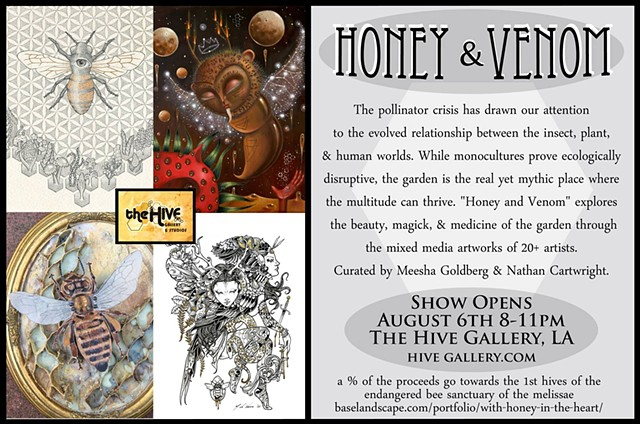 Honey & Venom Group Exhibition