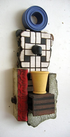 ceramic wall piece, small