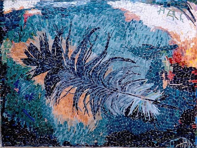 Large Feather Mosaic