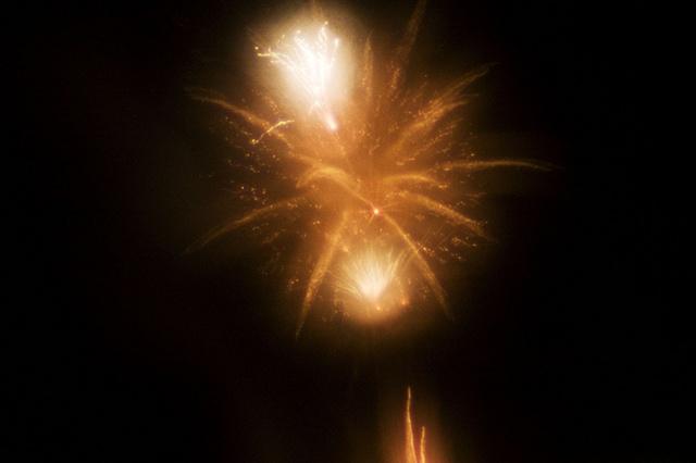Zoneplate Fireworks