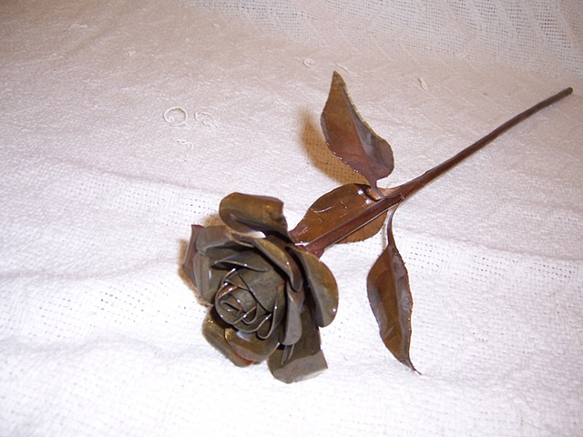 Rust Steel Rose