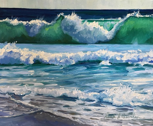 Waves - Studio Paintings