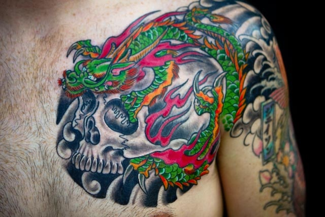 Dragon/Skull combo