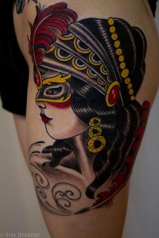 Gypsy Masquerade Tattoo