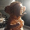 Ganesh Sculpture Prop for film