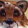 Brer Wood fox mask