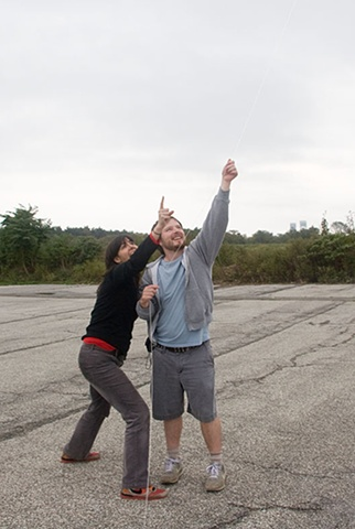 """Let's Go Make and Fly a Kite"" with Linn Edwards & Brian Bell at Floyd Bennett Field"