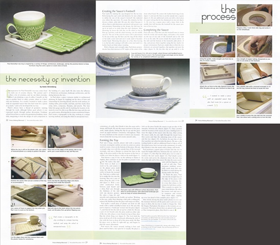 Pottery Making Illustrated, The Necessity of Invention, Annie Chrietzberg