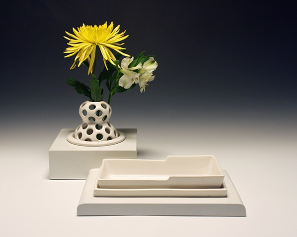 Vase &amp; Tray
