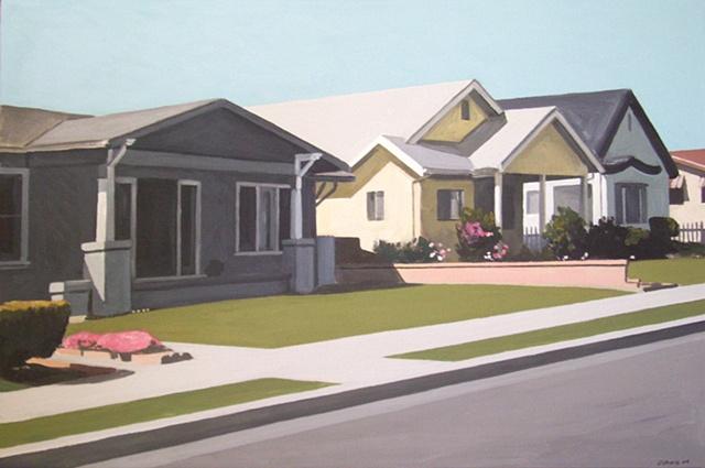 Houses on San Clemente Street
