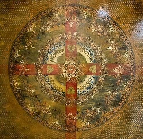 "Tapestry ""Love Mandala"""