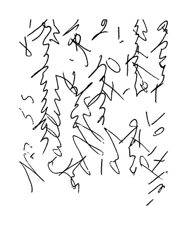 Twombly Letters B