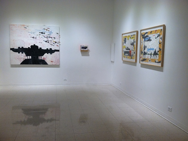 For The Record, installation view (Ernst, Banner, Roy)