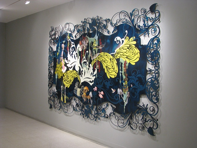 beauty and the beasties, installation view, detail, 2010