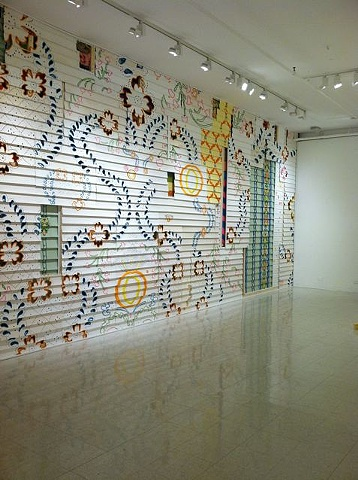Wall Papered Space, Samantha Fields