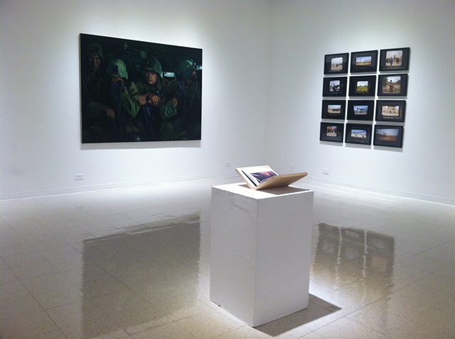 For The Record, installation view (Mumford, Lowy, Ristelhueber)