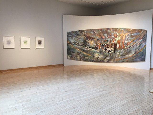 Field Visions, Installation View