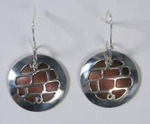 Stone Wall Earrings