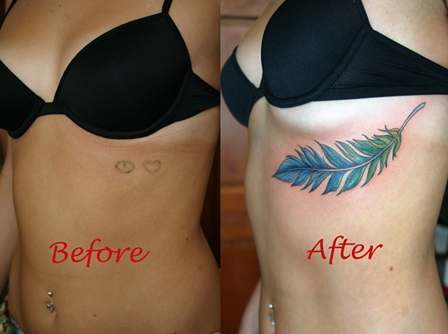Feather Cover Up.