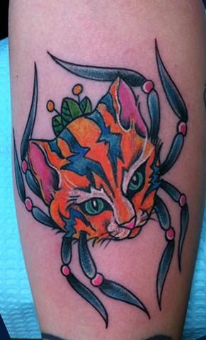 Spidercat!