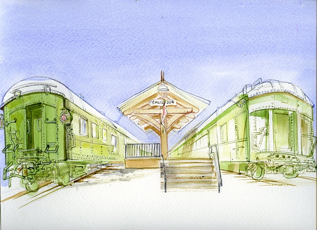 Train Station - Calistoga