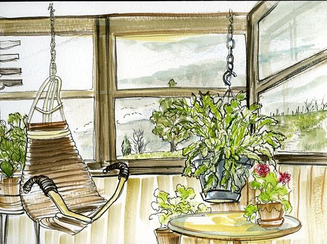 Indoor Porch